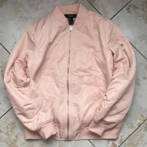 Forever 21 light pink puffy jacket